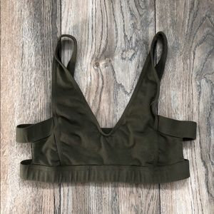 BNWT Free People caged bralette top size S